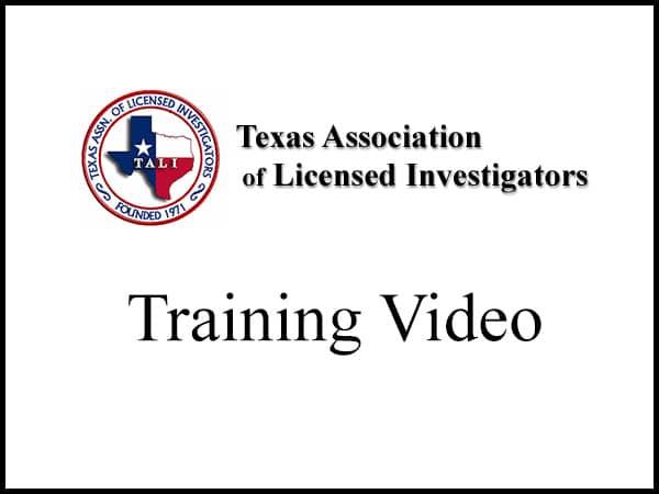 TALI Training Video